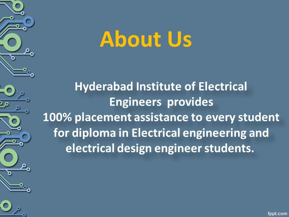 Job Oriented Courses After Electrical Engineering Job Oriented Courses After Electrical Engineering Ppt Download