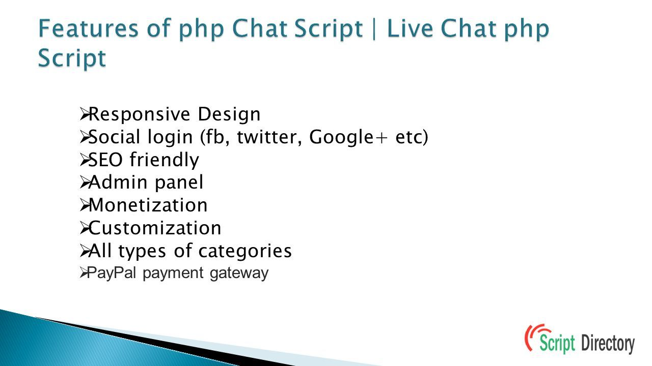 PHP Chat Script | Live Chat php Script from PHP script