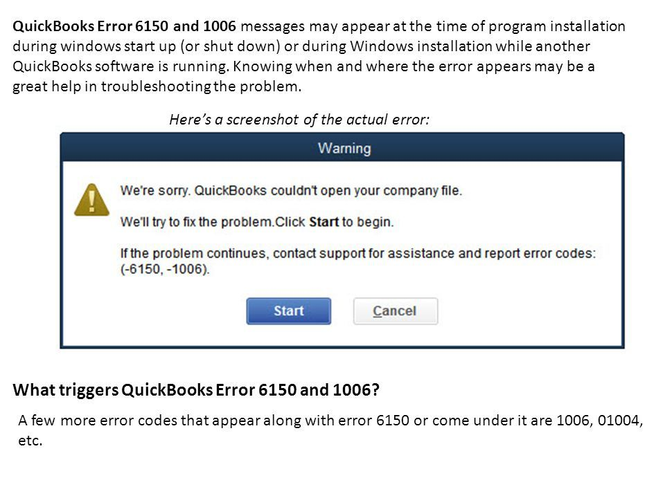 How to Resolve QuickBooks Error Code Simple Steps to Fix