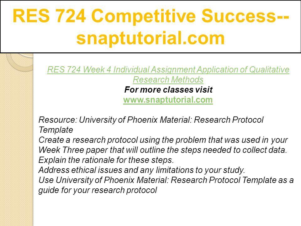 RES 724 Competitive Success-- snaptutorial.com - ppt download