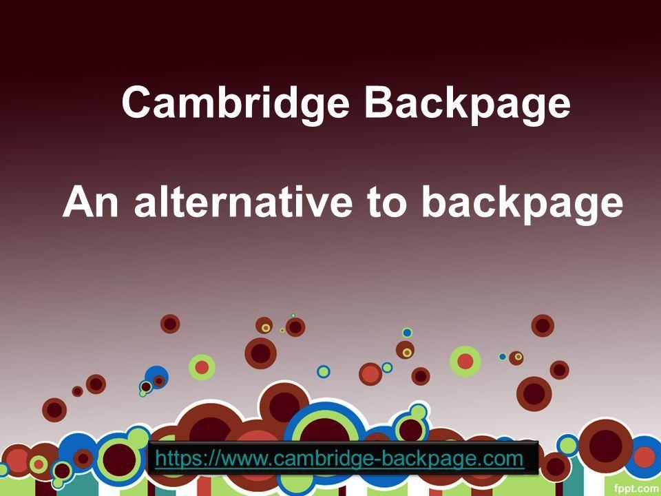 websites like backpage craigslist