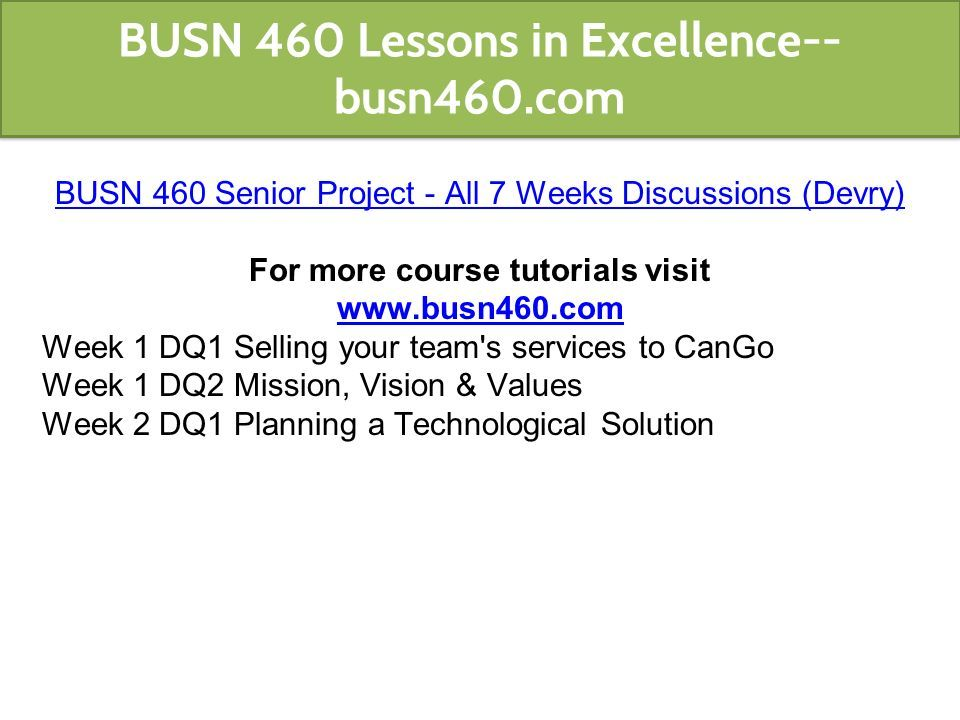 cango senior project