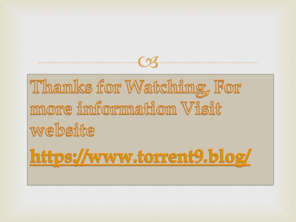 Films Telecharger Avec Torrent9