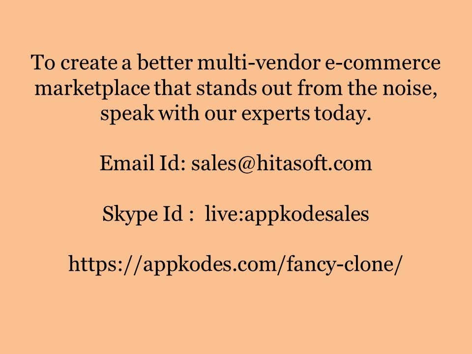 Are you searching for a ready-made multi-vendor ecommerce script
