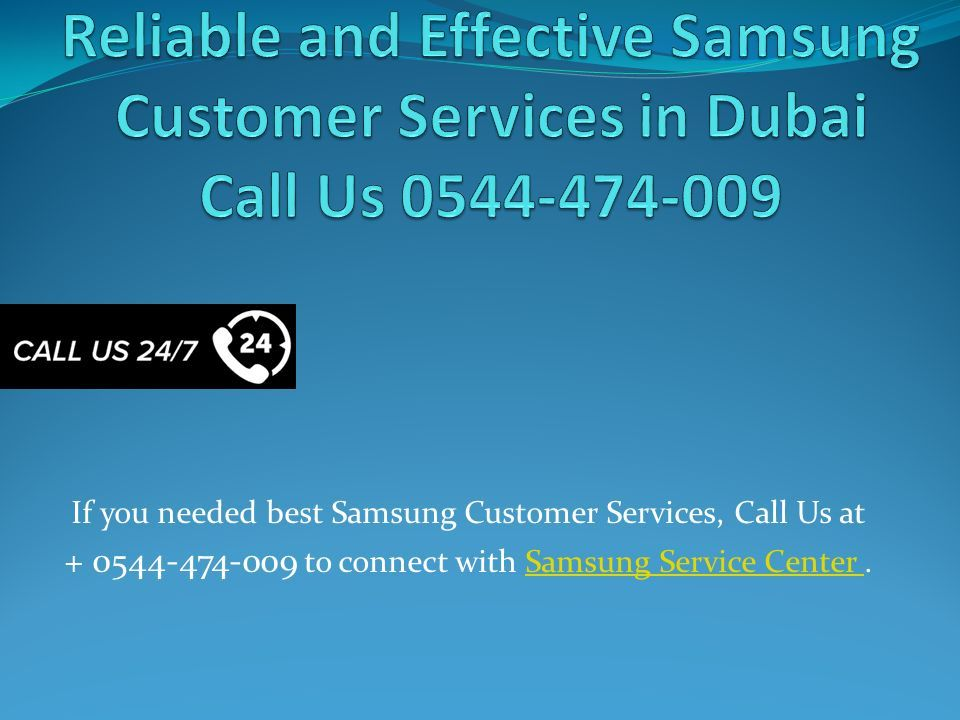 Reliable and Effective Samsung Customer Services in Dubai