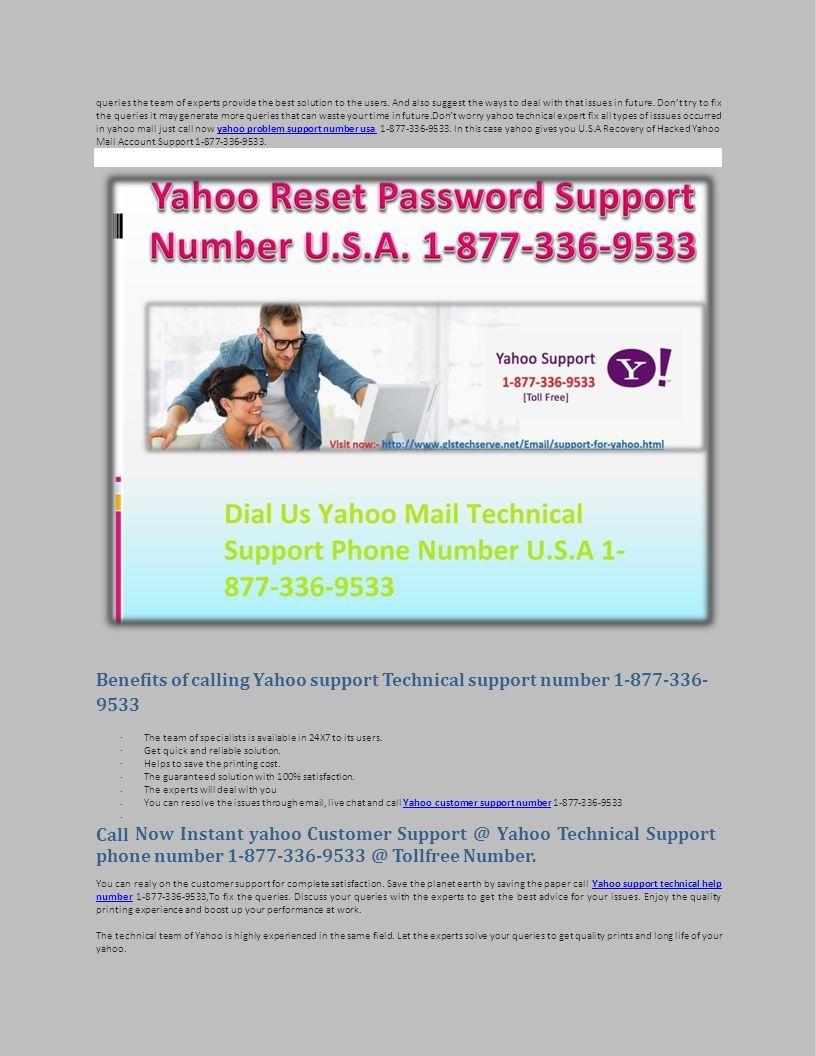 Yahoo Mail Help Desk Number ppt download