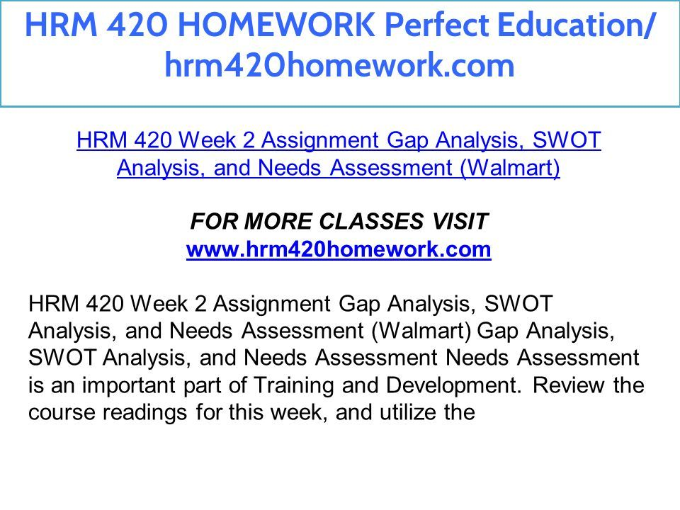 HRM 420 HOMEWORK Perfect Education/ hrm420homework com