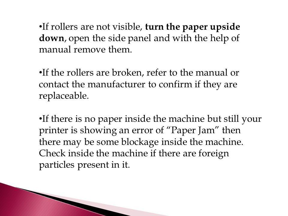 How To Fix A Jam Error When Paper Is Not Stuck In Xerox