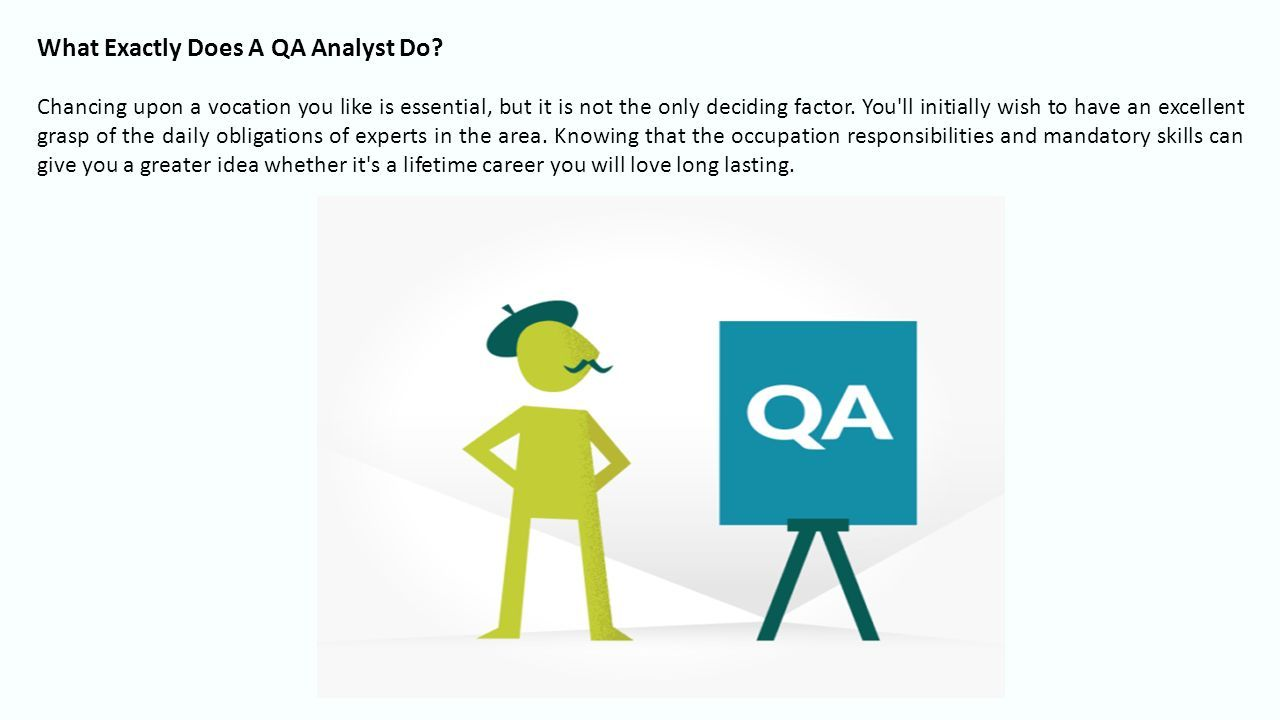 Software QA Services: What Does a QA Analyst Do? Testing Out This
