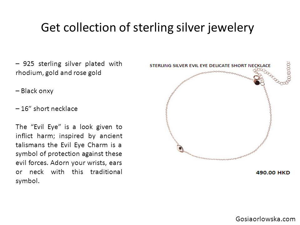 Get collection of sterling silver diffuser necklace - ppt