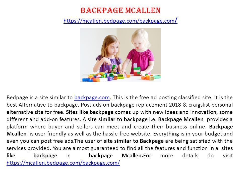 sites similar to backpage and craigslist