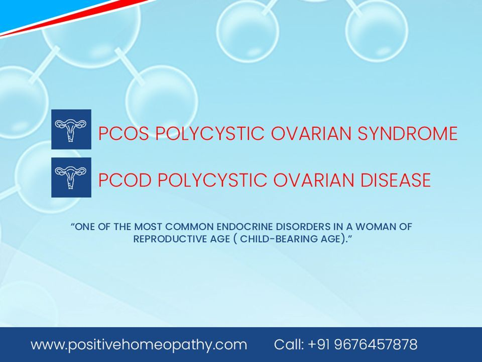 Homeopathy Treatment for PCOS | Homeopathic medicine for PCOS - ppt