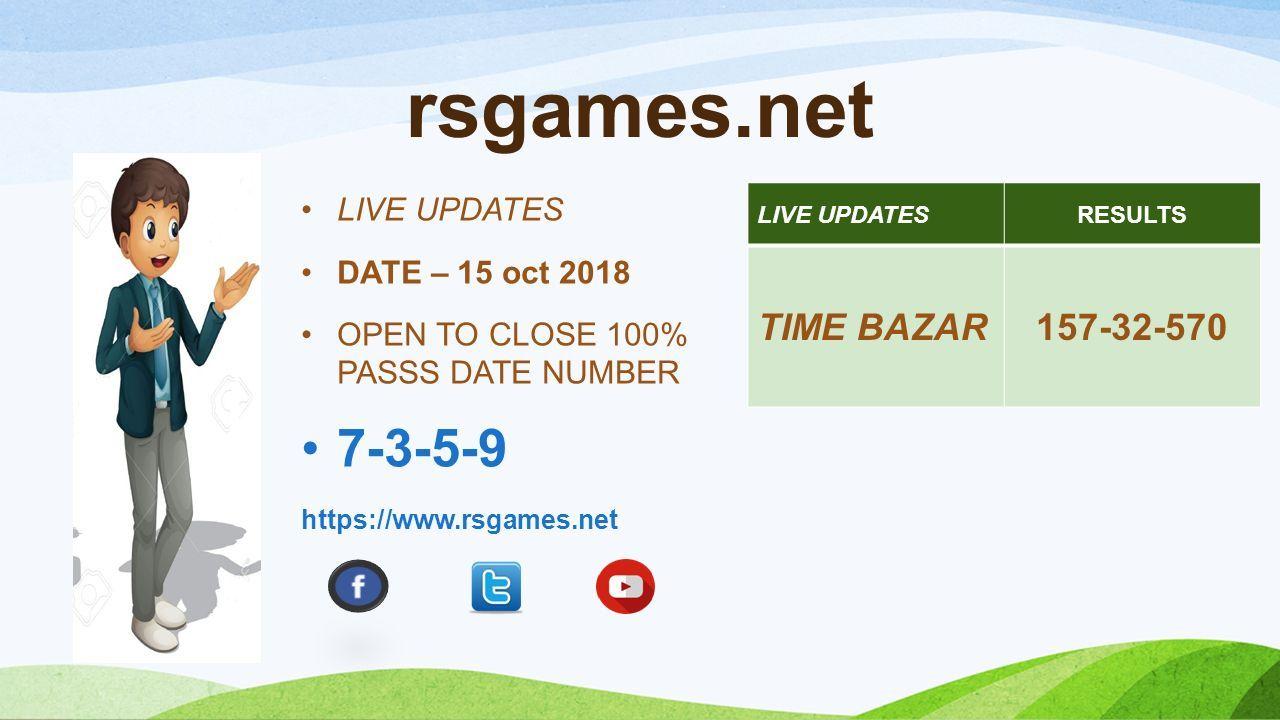 RSGAMESNET Satta matka, Kalyan Matka Results - ppt download