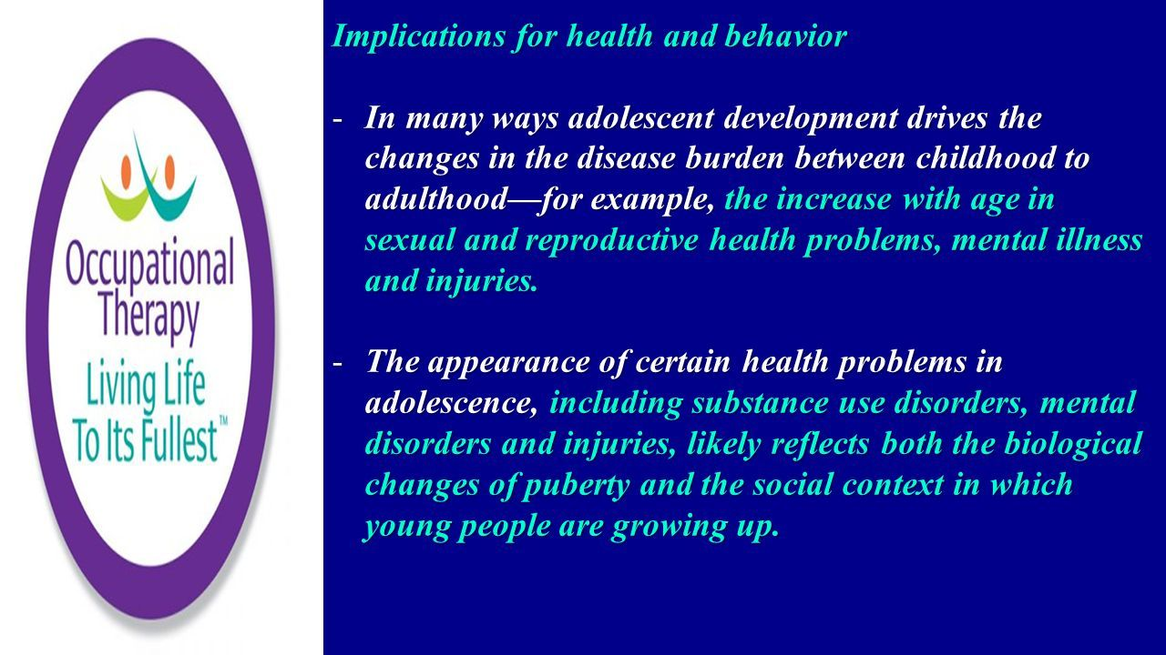 social changes in adolescence examples