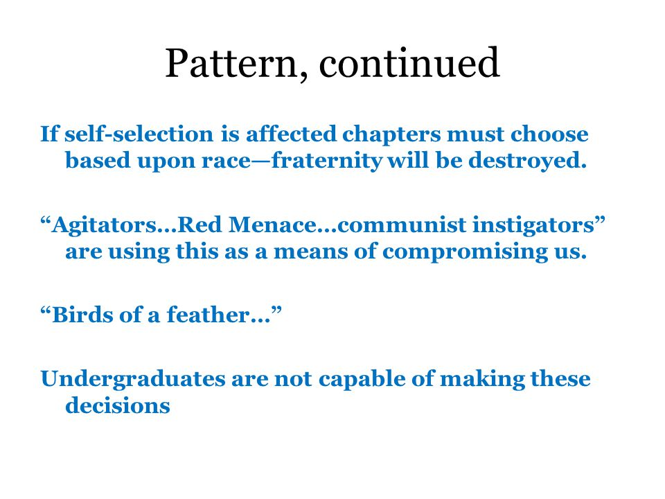 Pattern * arguments States rights v.