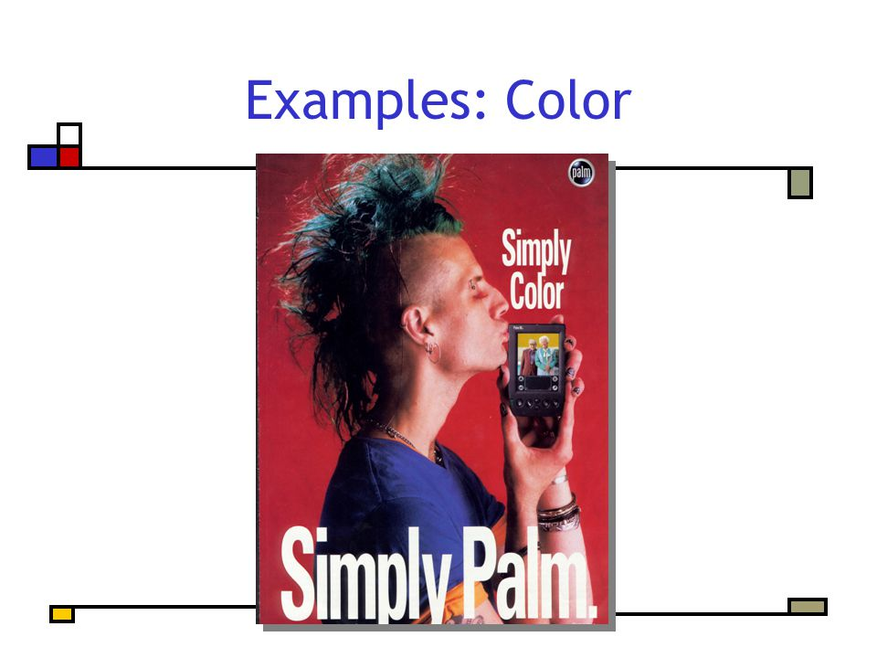 Examples: Color