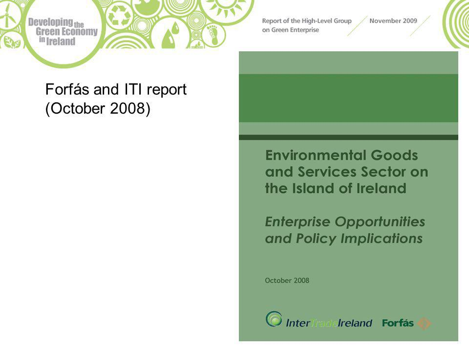 Forfás and ITI report (October 2008)