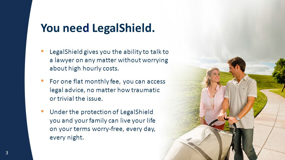 You need LegalShield.