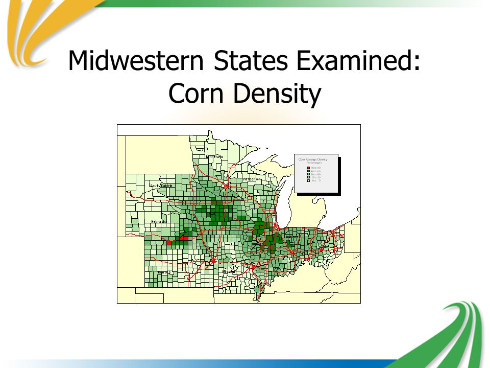 Midwestern States Examined: Corn Density