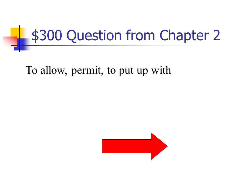 $200 Answer from Chapter 2 What is parched