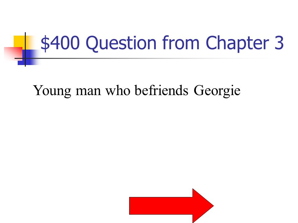 $300 Answer from Chapter 3 Who is Mrs. Harper
