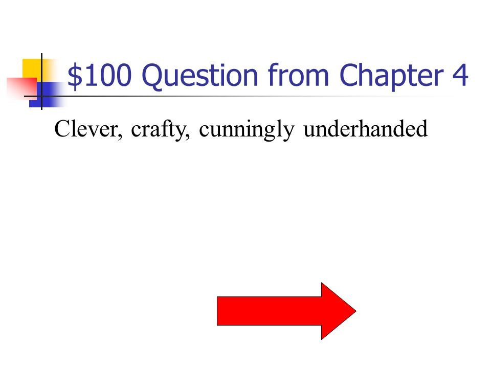 $500 Answer from Chapter 3 What is monstrosity