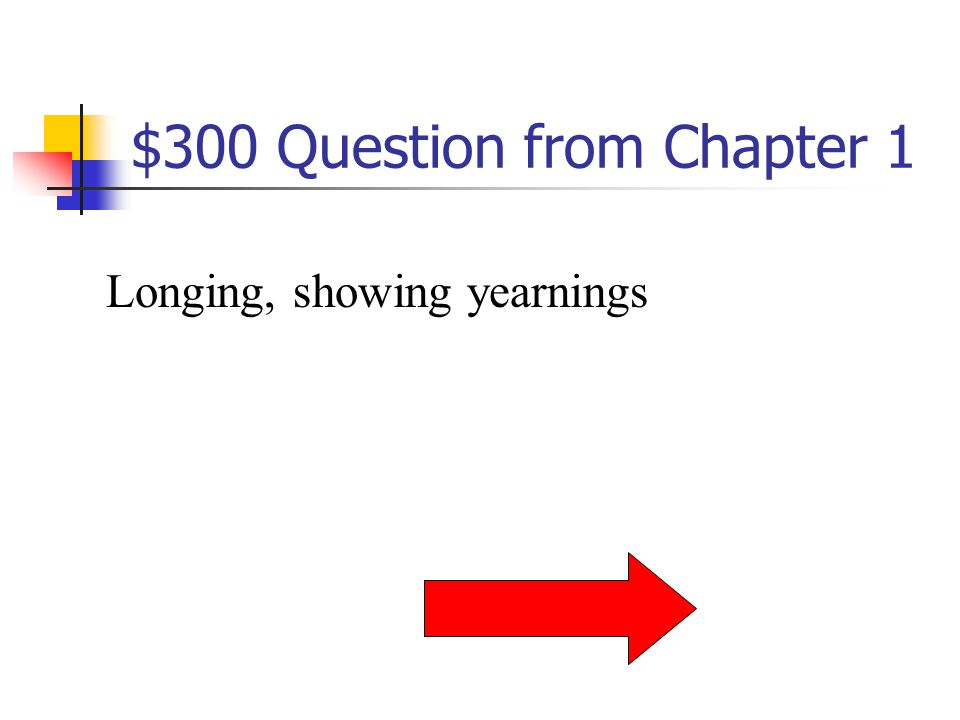 $200 Answer from Chapter 1 What is swayed