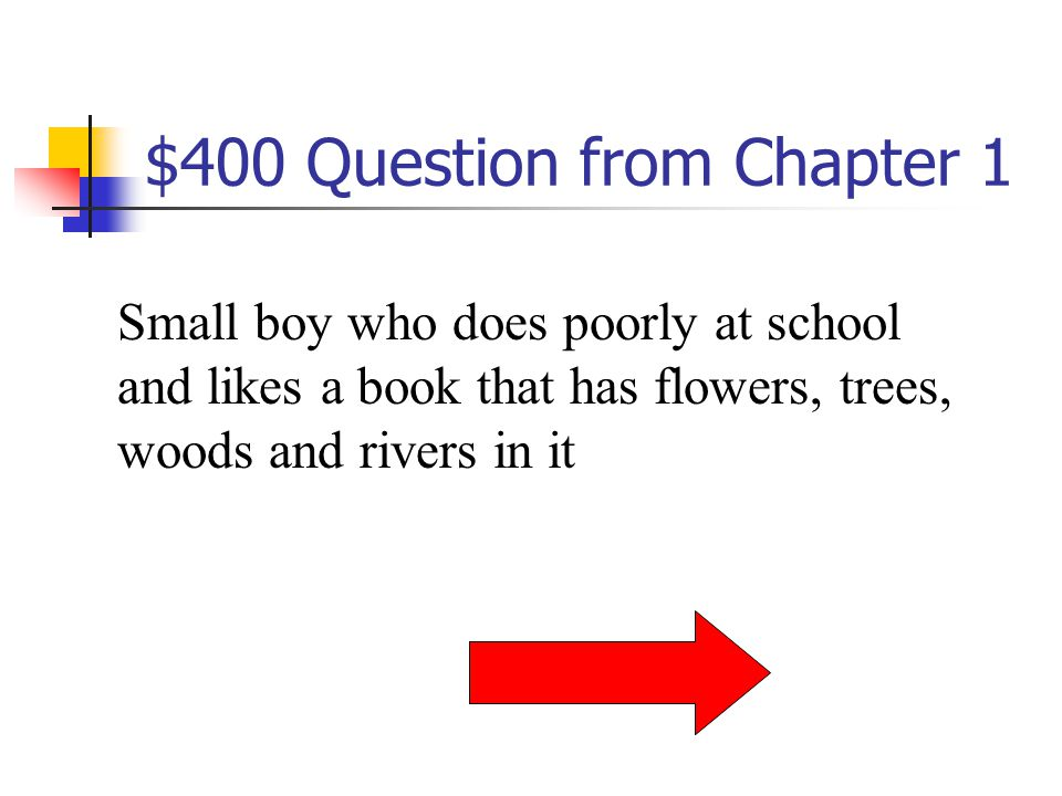 $300 Answer from Chapter 1 What is wistfully