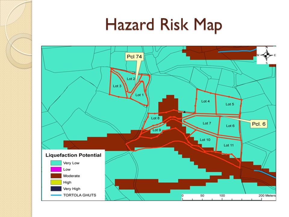 Hazard Risk Map