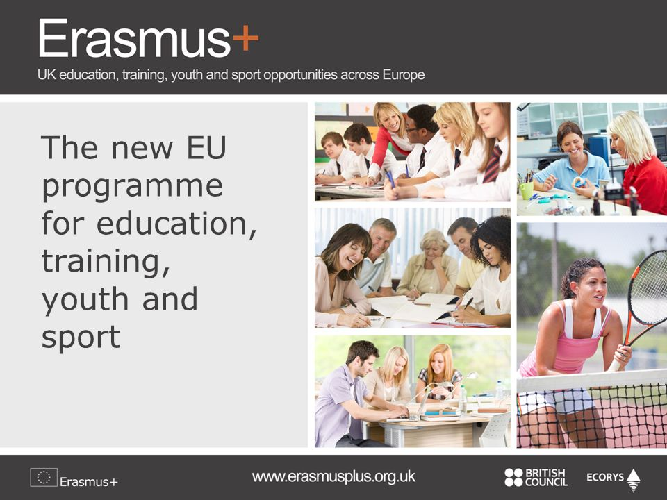 The new EU programme for education, training, youth and sport