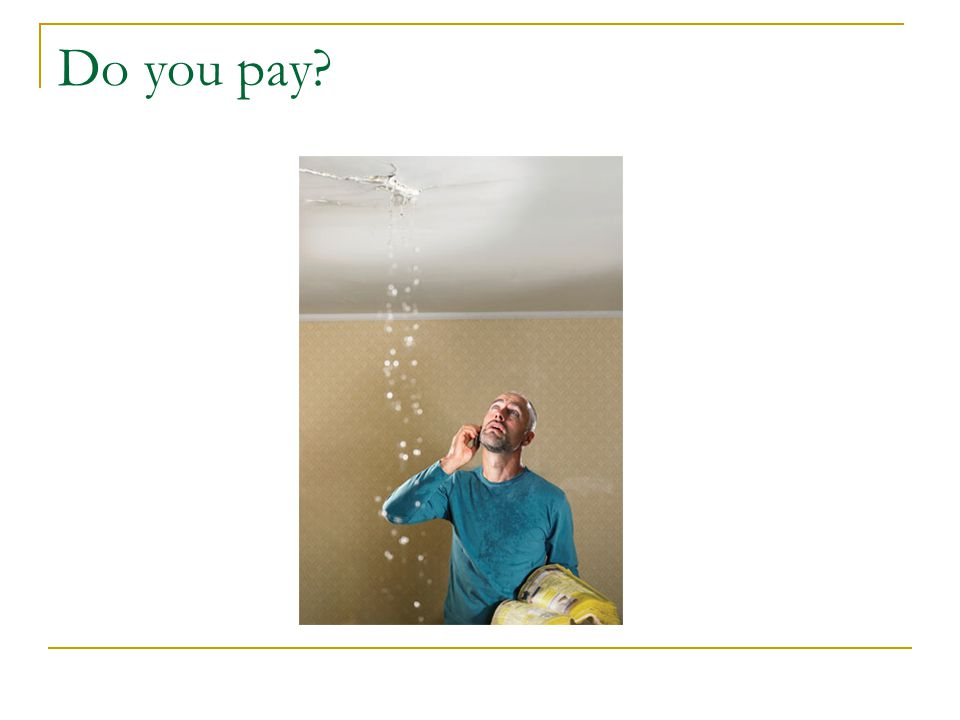 Do you pay