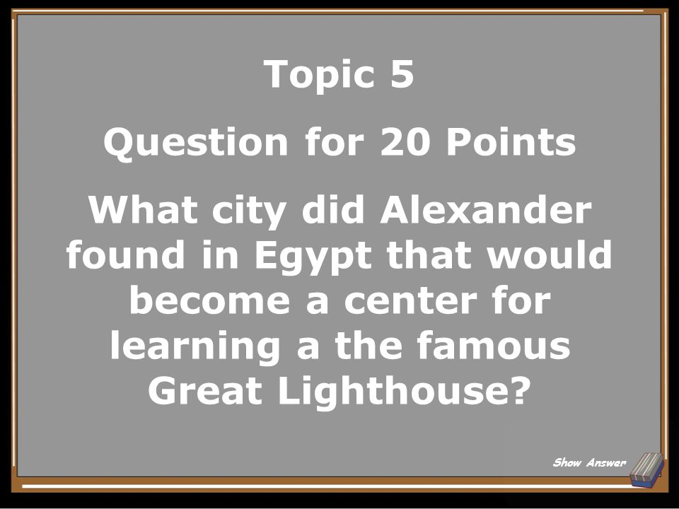 Topic 5 Answer for 15 Points He was trying to blend the cultures of the Greeks and Persians to unify his empire.