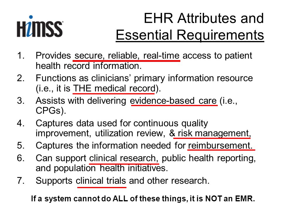 1.Provides secure, reliable, real-time access to patient health record information.