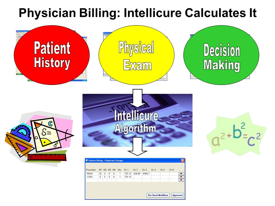 Physician Billing: Intellicure Calculates It