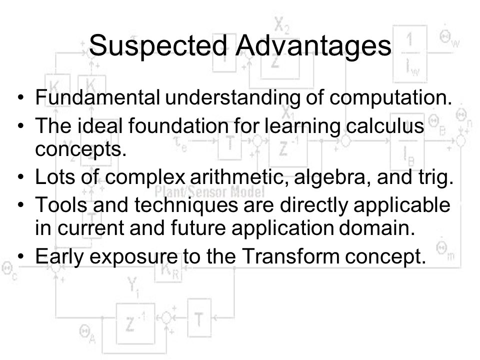 Suspected Advantages Fundamental understanding of computation.