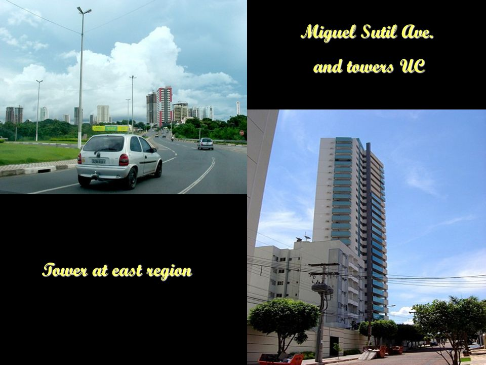 Buildings at west region and Mother Boniface Park Same as above