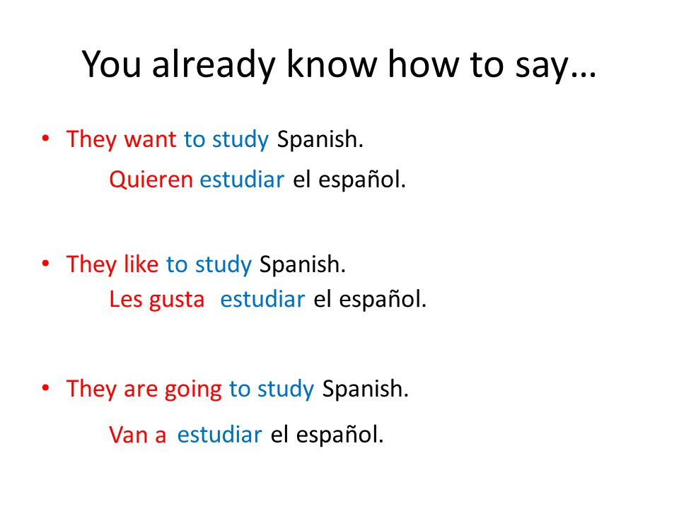 How do you say what are we going to do in spanish