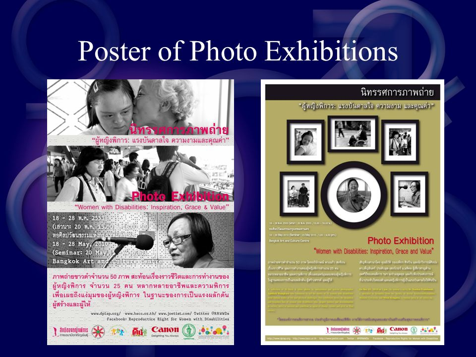 Poster of Photo Exhibitions