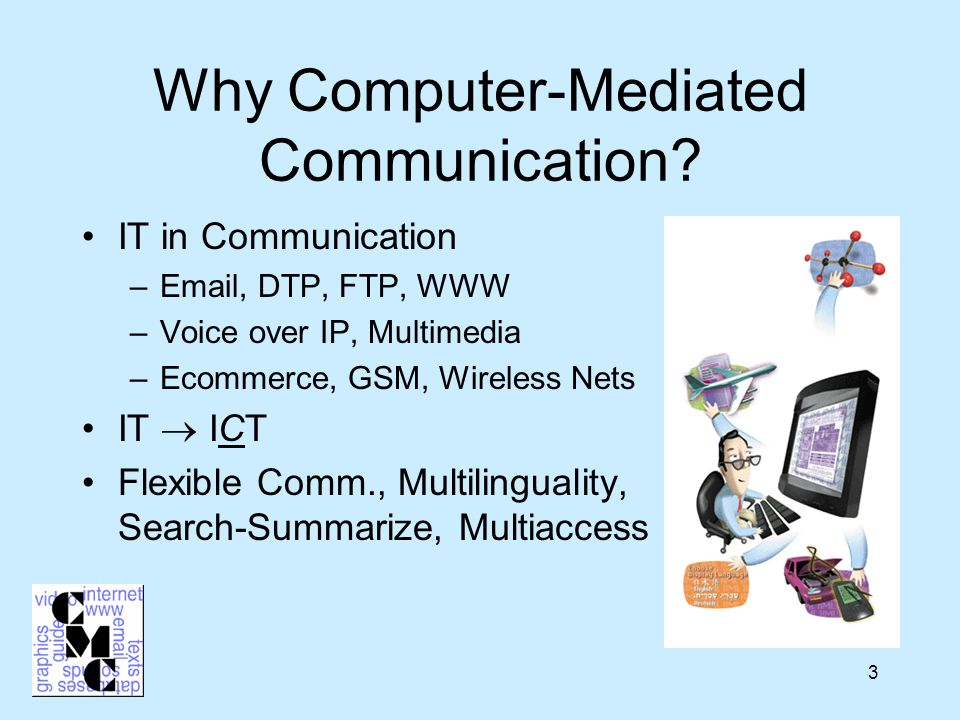 1 Computers Communication And Groningen Work Study Program In Computer Mediated Communication Rug John Nerbonne Gisela Redeker 21 Jan Ppt Download