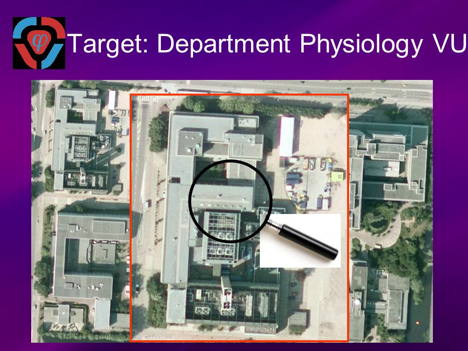 Target: Department Physiology VU