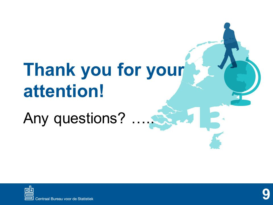 Thank you for your attention! Any questions ….. 9