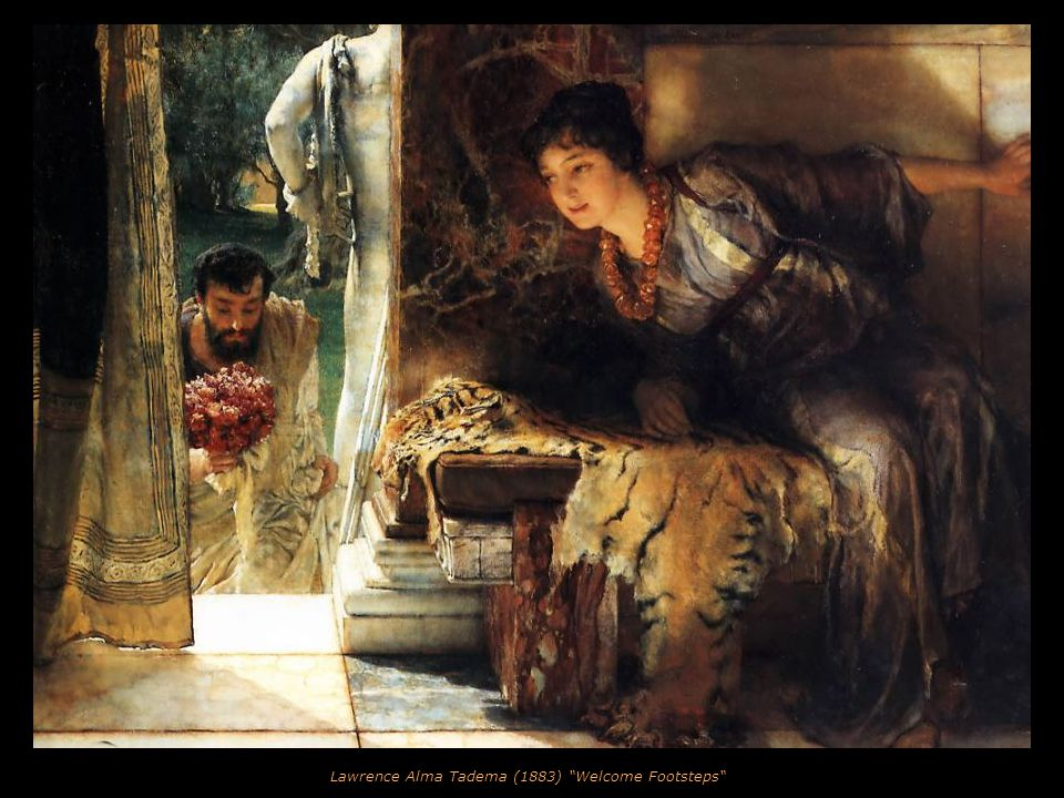 Lawrence Alma Tadema (1881) The Tepidarium
