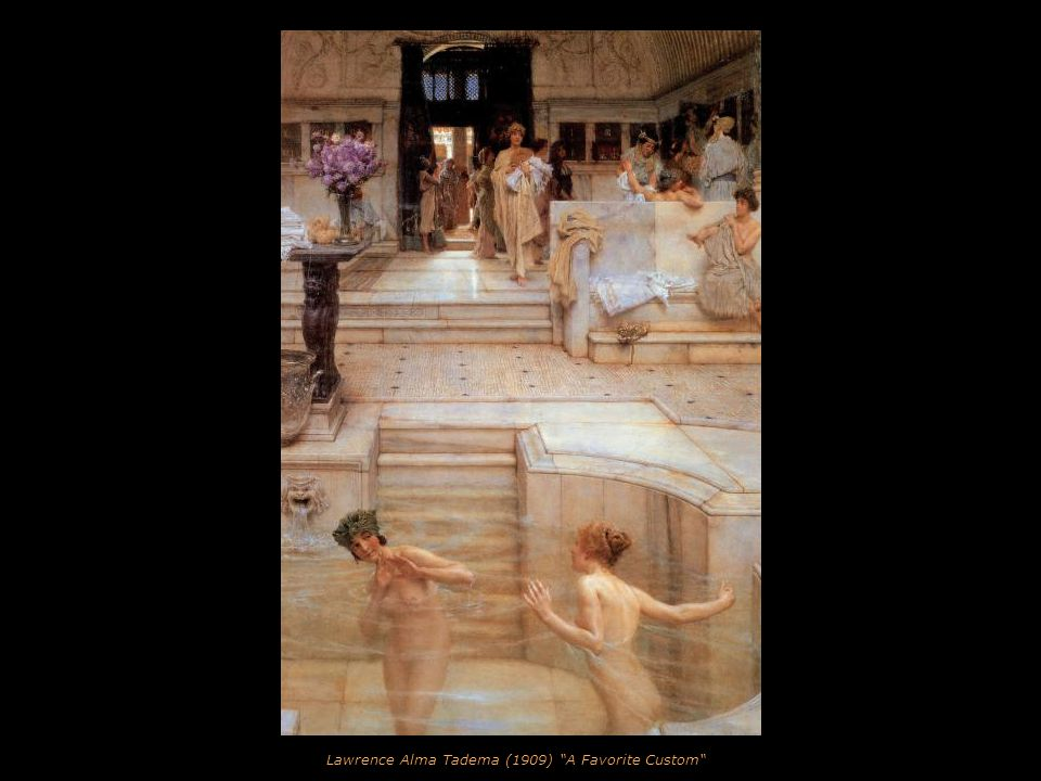Lawrence Alma Tadema (1906) Ask me no more