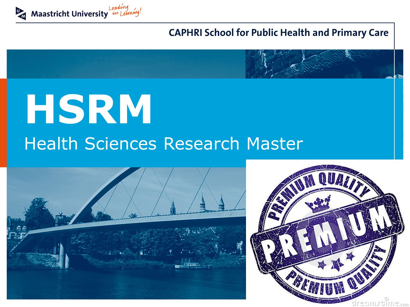 HSRM Health Sciences Research Master