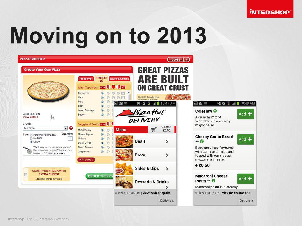 Intershop | The E-Commerce Company Moving on to 2013