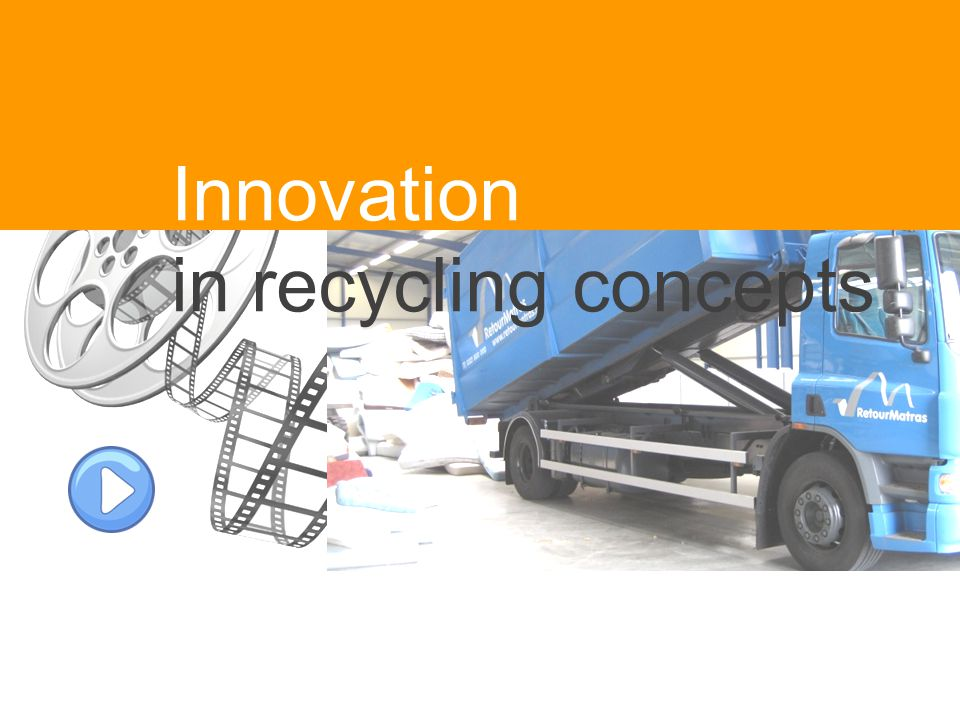 Innovation in recycling concepts