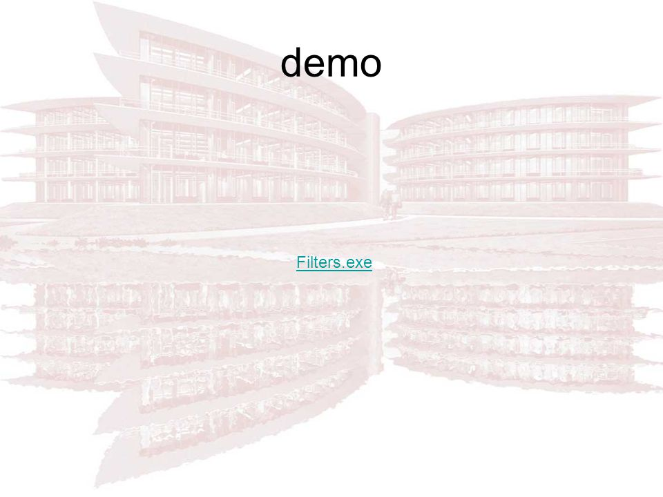 demo Filters.exe