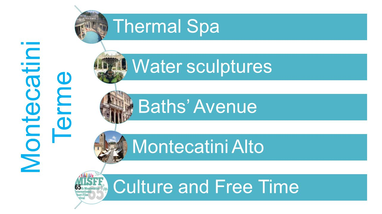 Thermal Spa Water sculptures Baths' Avenue Montecatini Alto Culture and Free Time Montecatini Terme