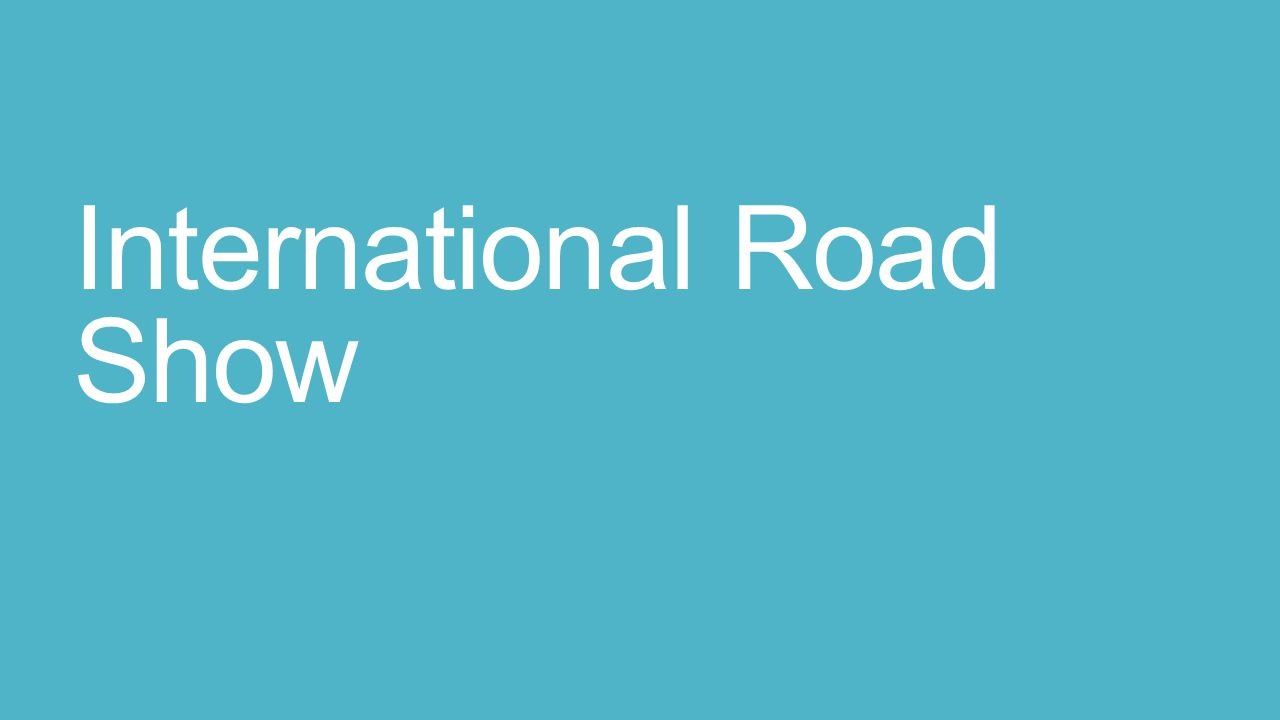 International Road Show