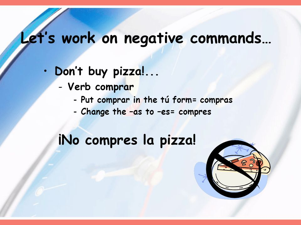 Don't buy pizza!...